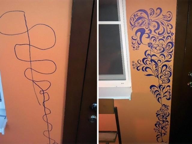 Le dessin sur les murs n'est pas une fatalité !