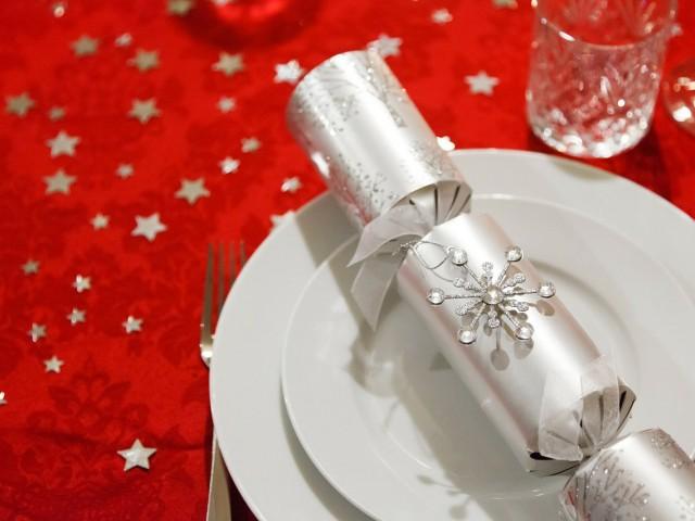 Une table bien décorée pour Noël