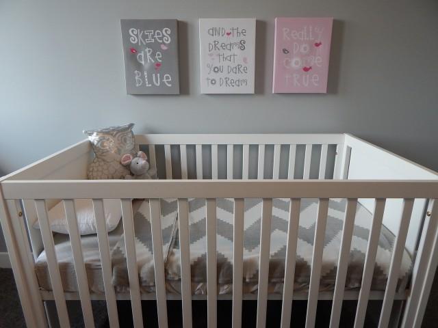 Une chambre pour le bébé qu'on attend impatiemment