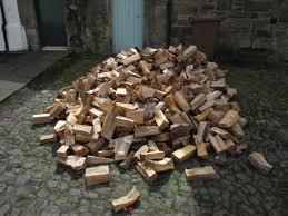 Chauffage à la maison : les bûches de bois !