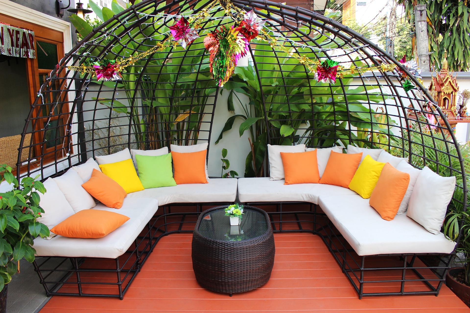 meuble de jardin haut de gamme
