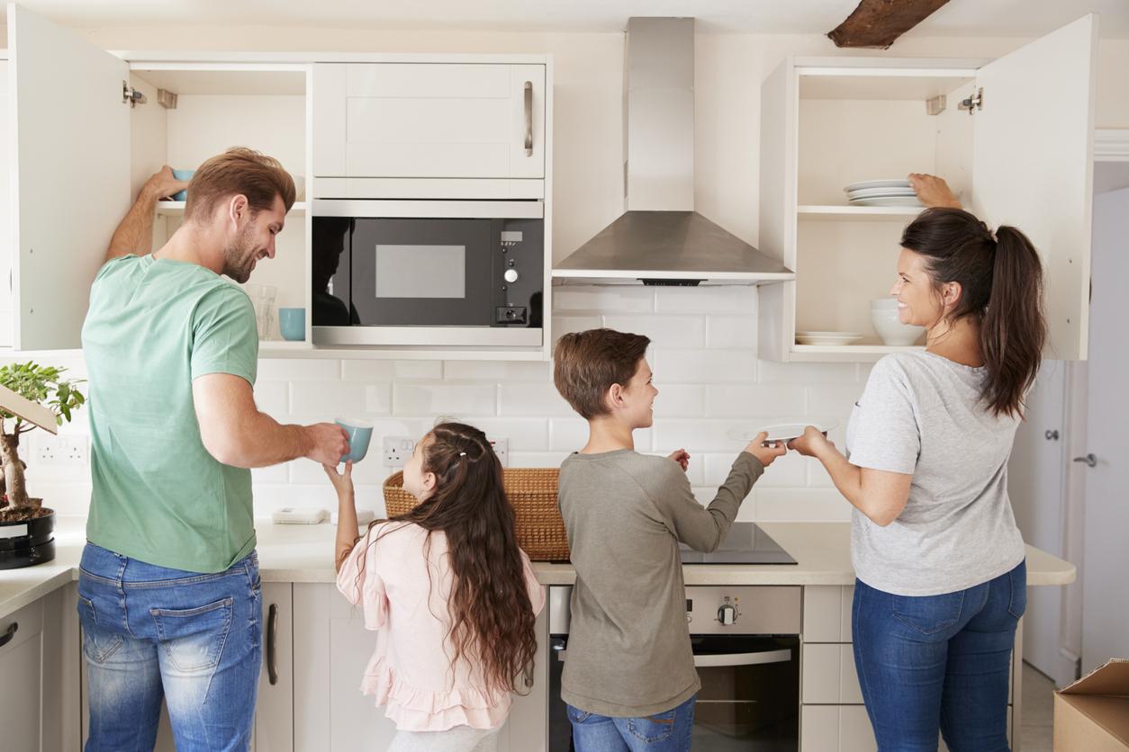 une cuisine adaptée aux enfants